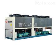 低温螺杆式冷水机的动作过程