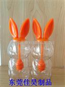 东莞石排吹塑厂 吹塑PETG瓶 食品罐 吹塑PETG兔子蜜糖罐