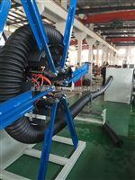 塑料管材挤出机生产线pe碳素螺旋管设备