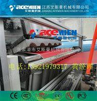 塑料瓦设备、合成树脂瓦机器